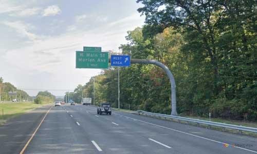 ct i 84 rest area mile marker 42