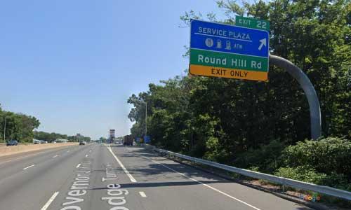 ct i 95 rest area mile marker 22