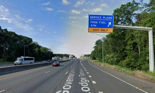 ct i 95 rest area sb mile marker 41